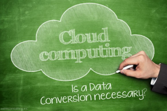 Cloud Computing - Is a Data Conversion necessary