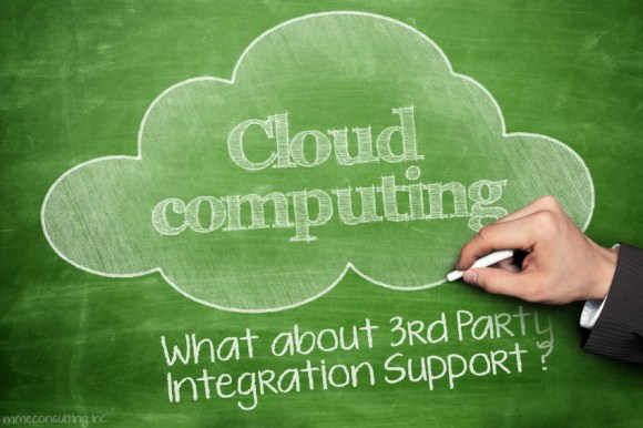 Cloud Computing - 3rd Party Integration Support