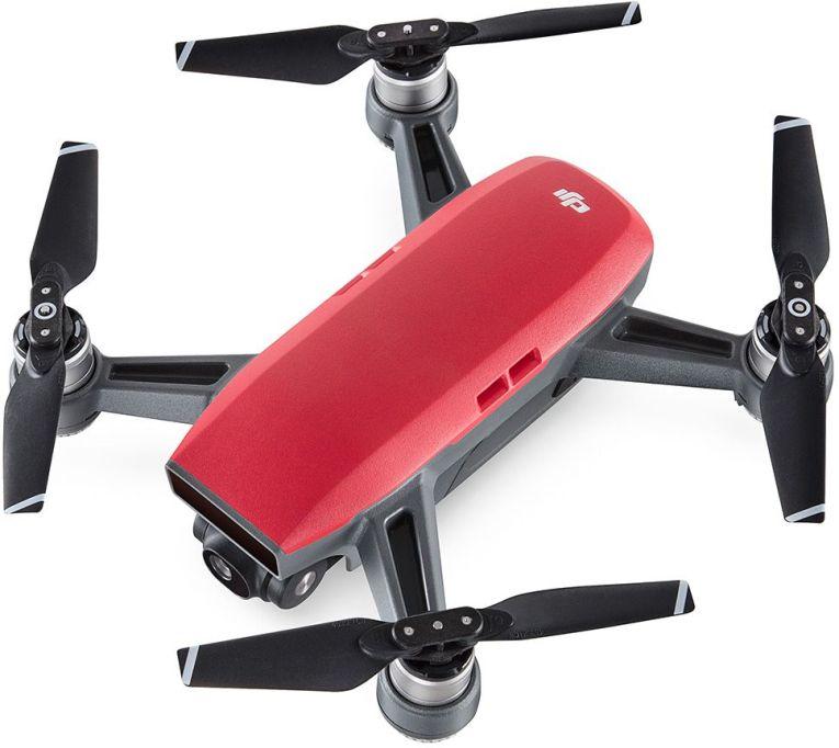 DJI Квадрокоптер на радиоуправлении Spark цвет красный