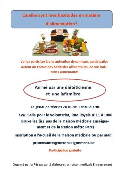 flyers alimentation