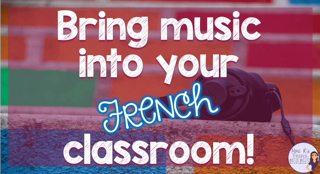 French-playlist-for-secondary-classes
