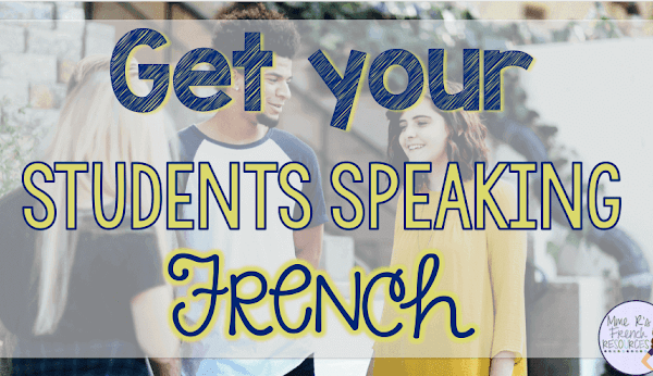 How to get your French students speaking