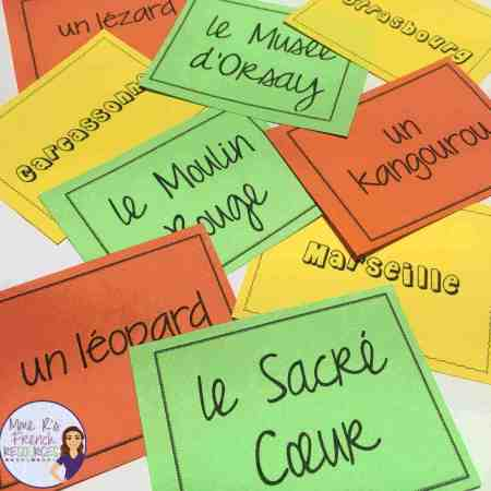 French-grouping-cards