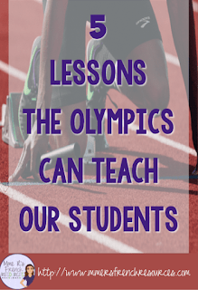 5 lessons the Olympics can teach our students