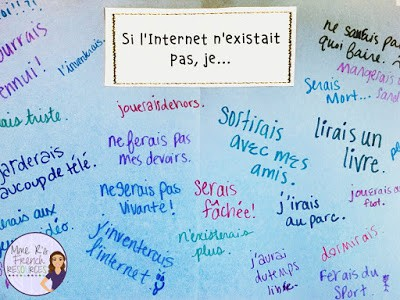French si clause practice your students will love!