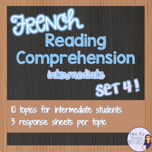 French-reading-comprehension