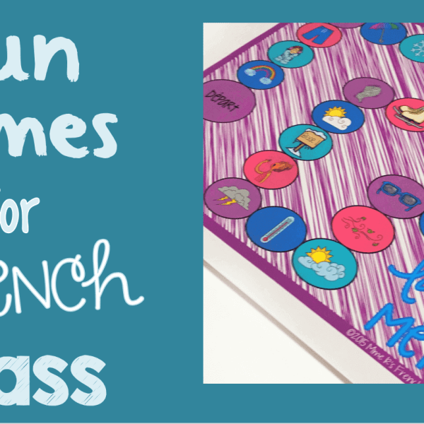 French class games students love
