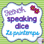 French-spring-speaking-activity
