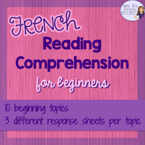 French-beginner-reading-comprehension