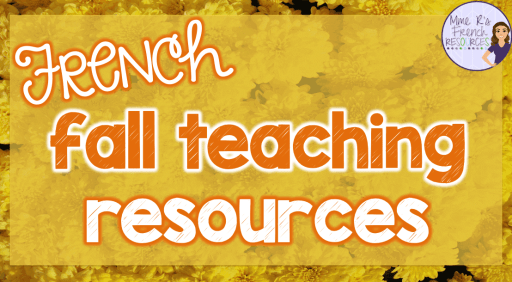 French-fall-teaching-resources