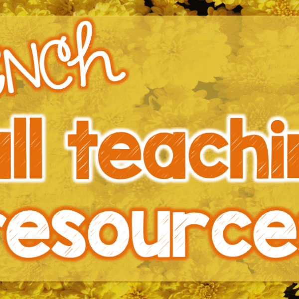 French fall teaching resources