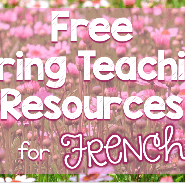 Free French spring resources
