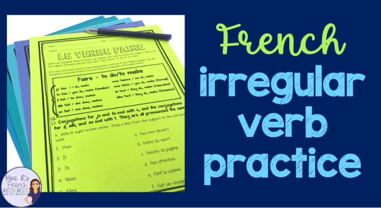 French-irregular-verb-worksheets