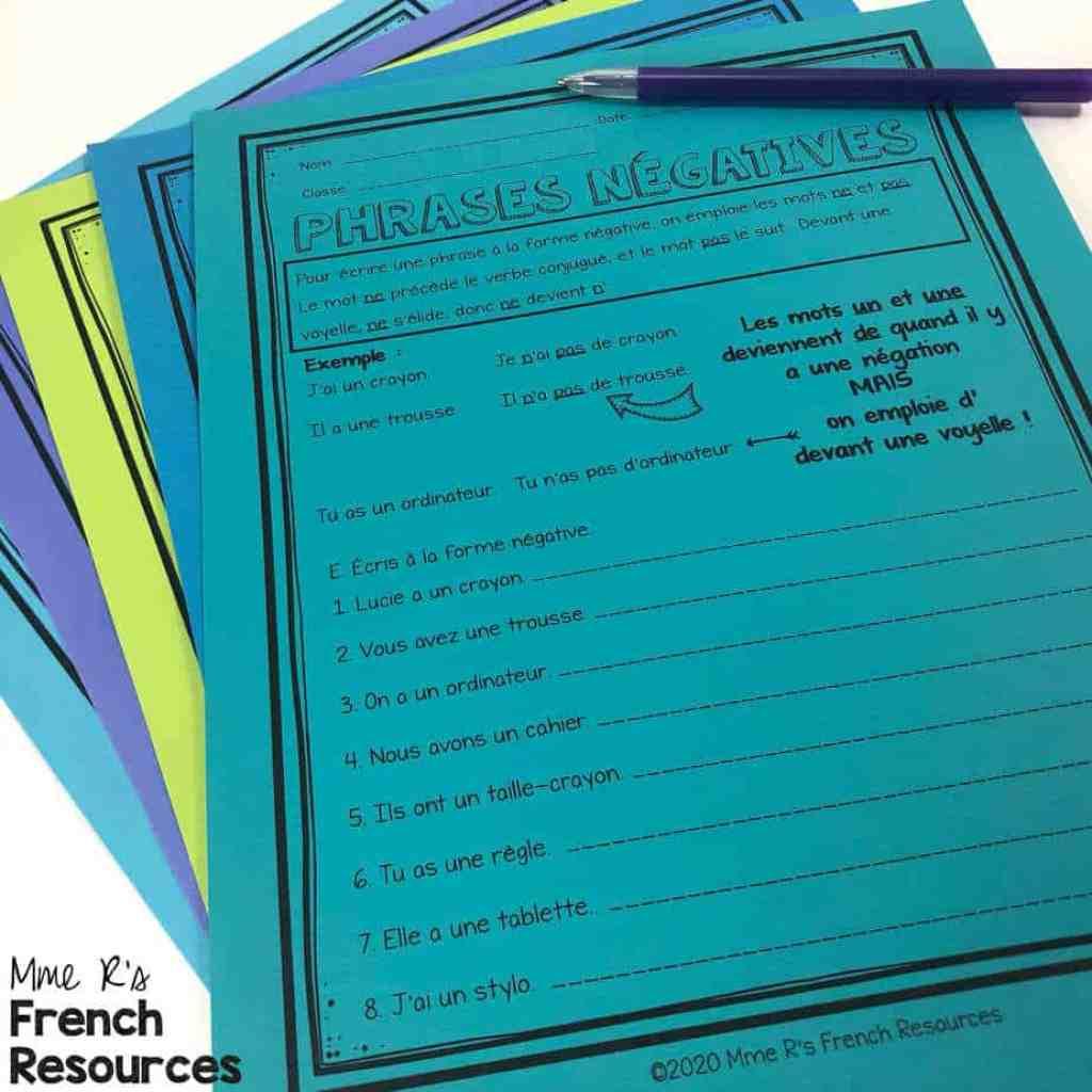 French-negative-sentences