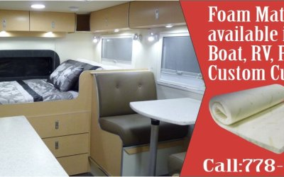 Boat, RV, Patio Custom Foam / Sponge – Cheap Price Sale