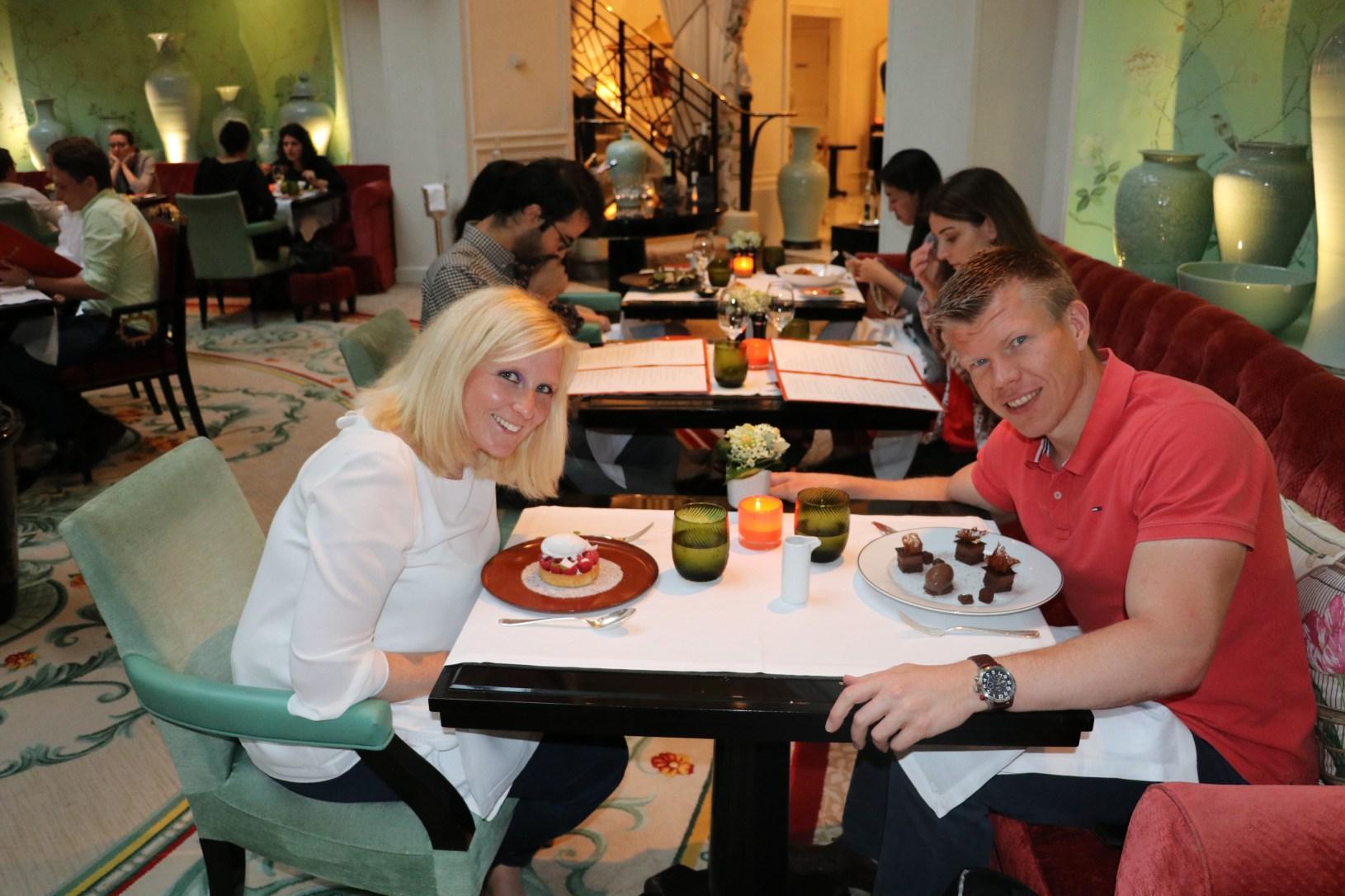 im Restaurant La Bauhinia (im Shangri-La Hotel)