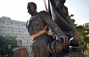 SERBIA-RUSSIA-HISTORY-MONUMENT