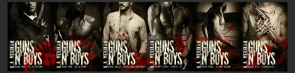 Guns n' Boys by K.A. Merikan Big Blog Tour, Fanfic & Giveaway!