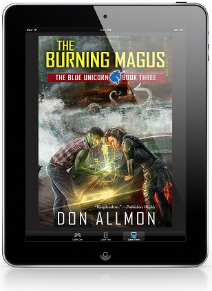 The Burning Magus by Don Allmon Blog Tour, Excerpt & Giveaway!