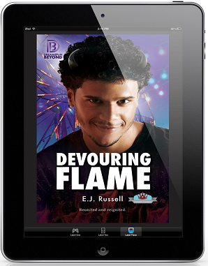 Devouring Flame by E.J. Russell Guest Post, Intro & Exclusive Excerpt, and Giveaway!