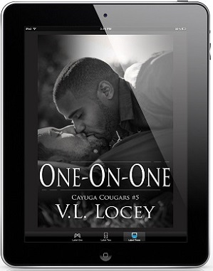 One-On-One by V.L. Locey Release Blast & Giveaway!
