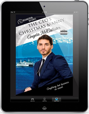 The CEO's Christmas Manny by Amanda McAllister