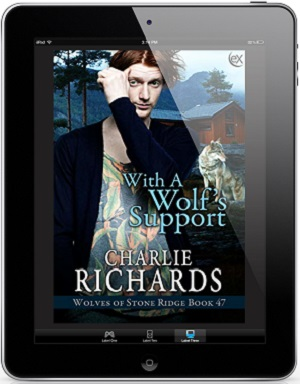 With a Wolf's Support by Charlie Richards