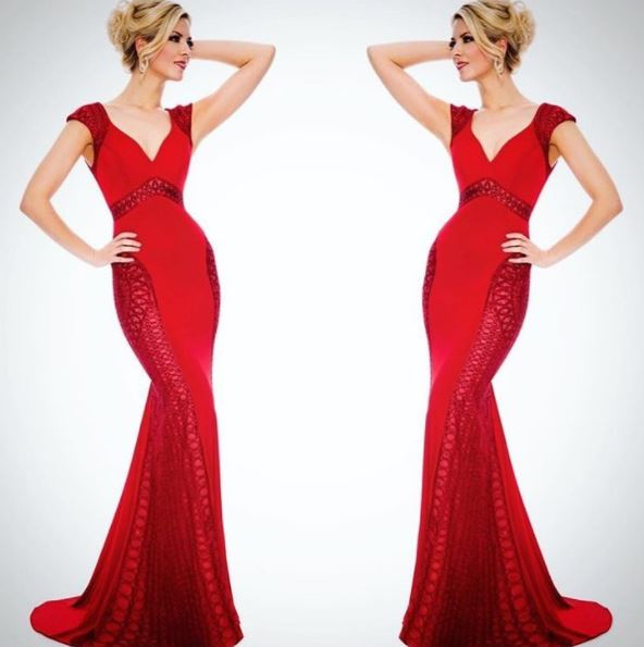 MMG serendipity gown print