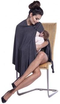 Zeta Ville - Women's Maternity Poncho Shawl Breastfeeding ...