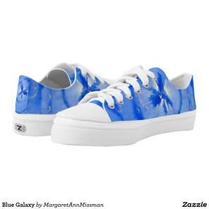 Blue Galaxy on low tops
