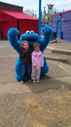 Special needs kids day at Sesame Place