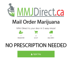 Register and Order from MMJDirect.ca today!