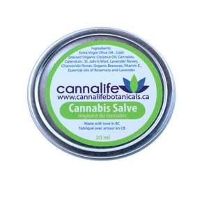 Cannabis Salve. 30ml - 75mg THC