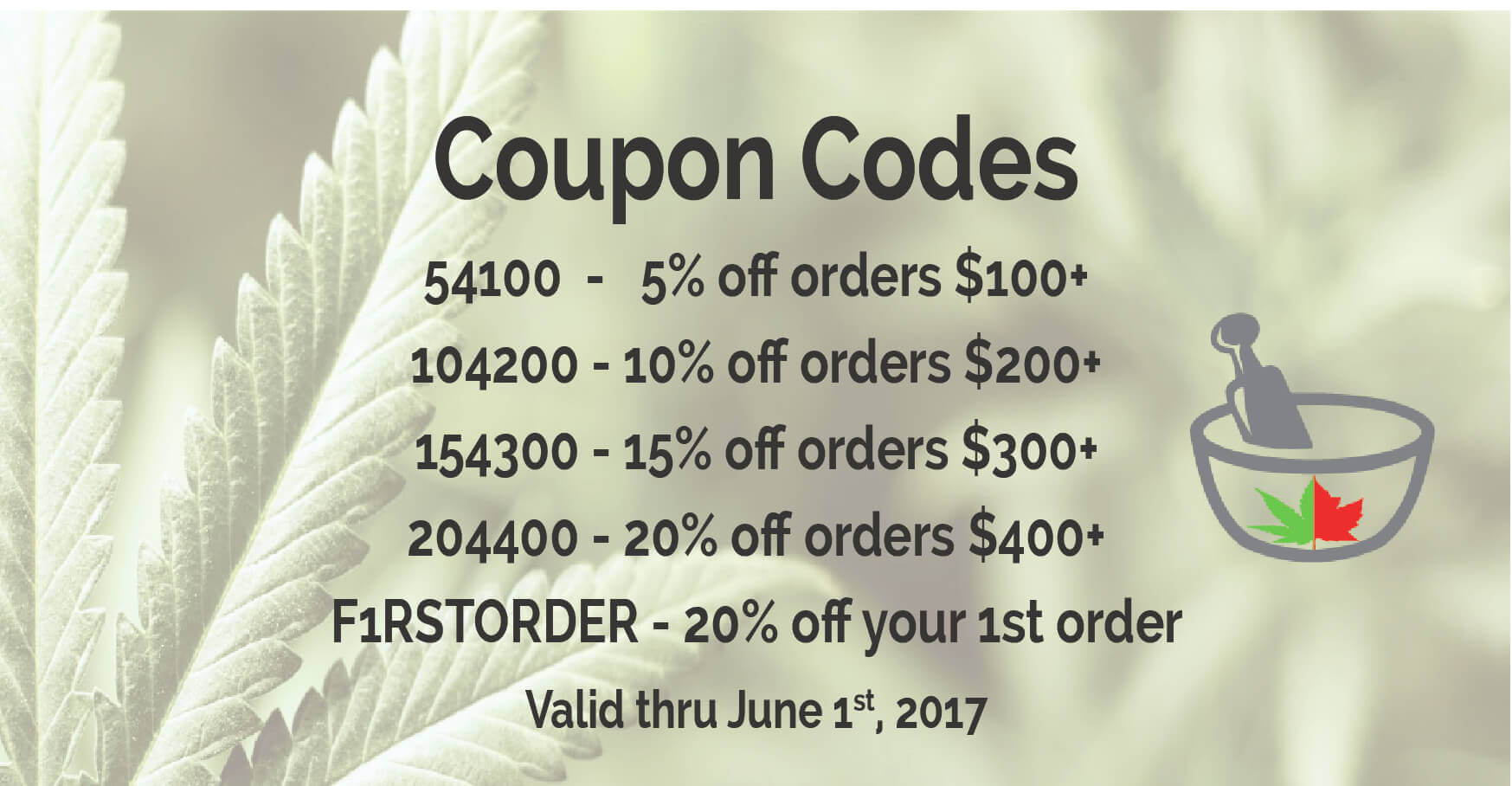 MMJDirect 2017 Coupon Codes