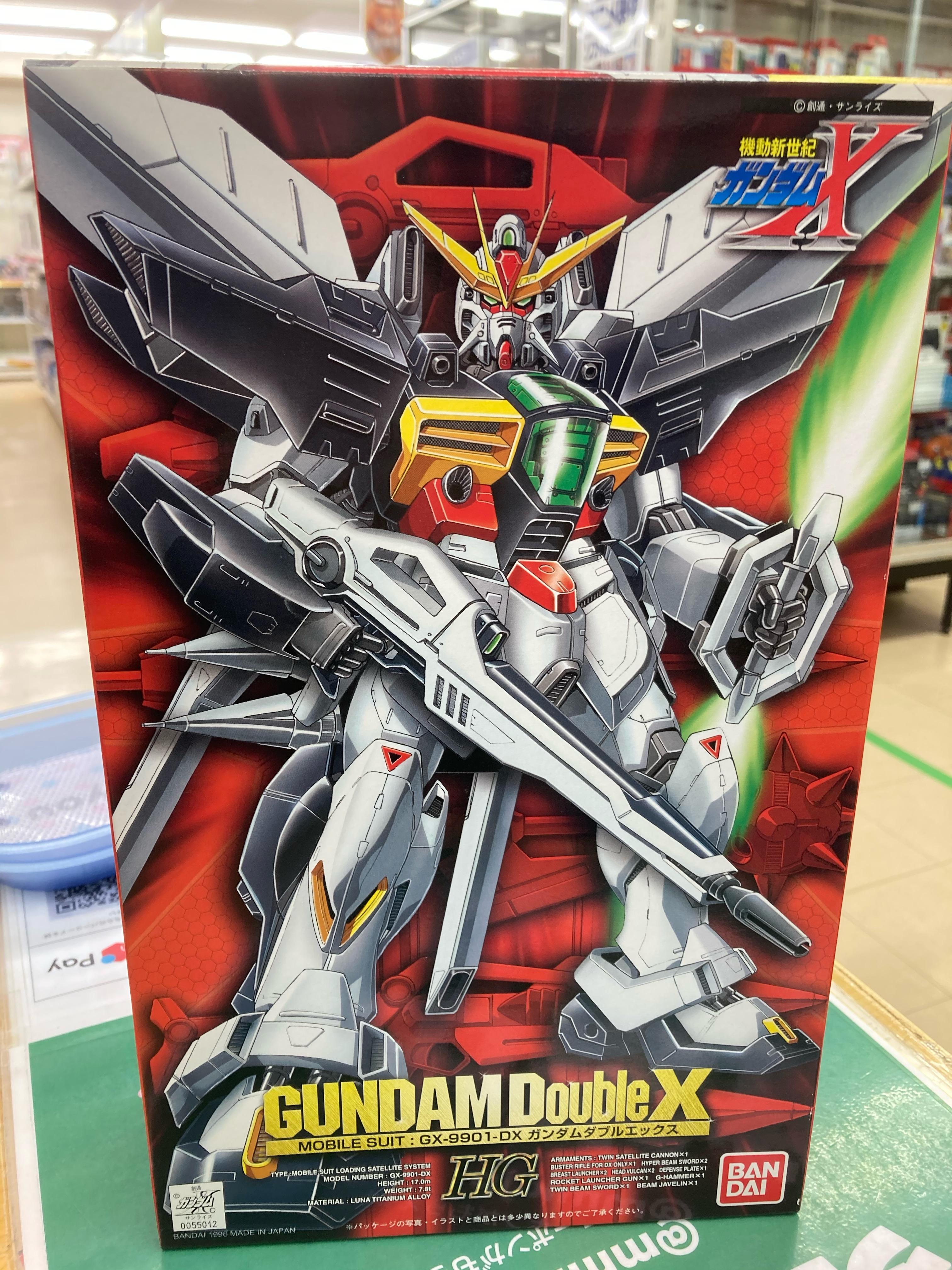 買取情報『機動新世紀ガンダムXの1/100 HG ガンダムダブルエックス GUNDAM-X SERIES 06』