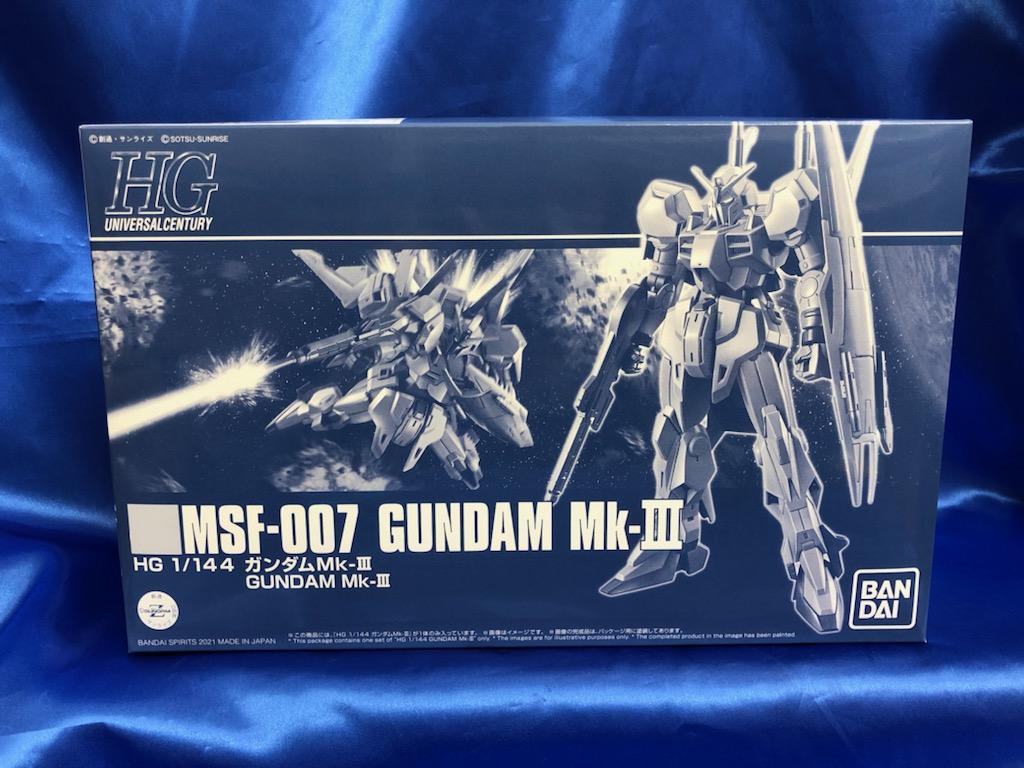 買取情報『プレミアムバンダイ限定!「機動戦士Zガンダム MSV」の1/144 HGUC MSF-007 ガンダムMk-III 』