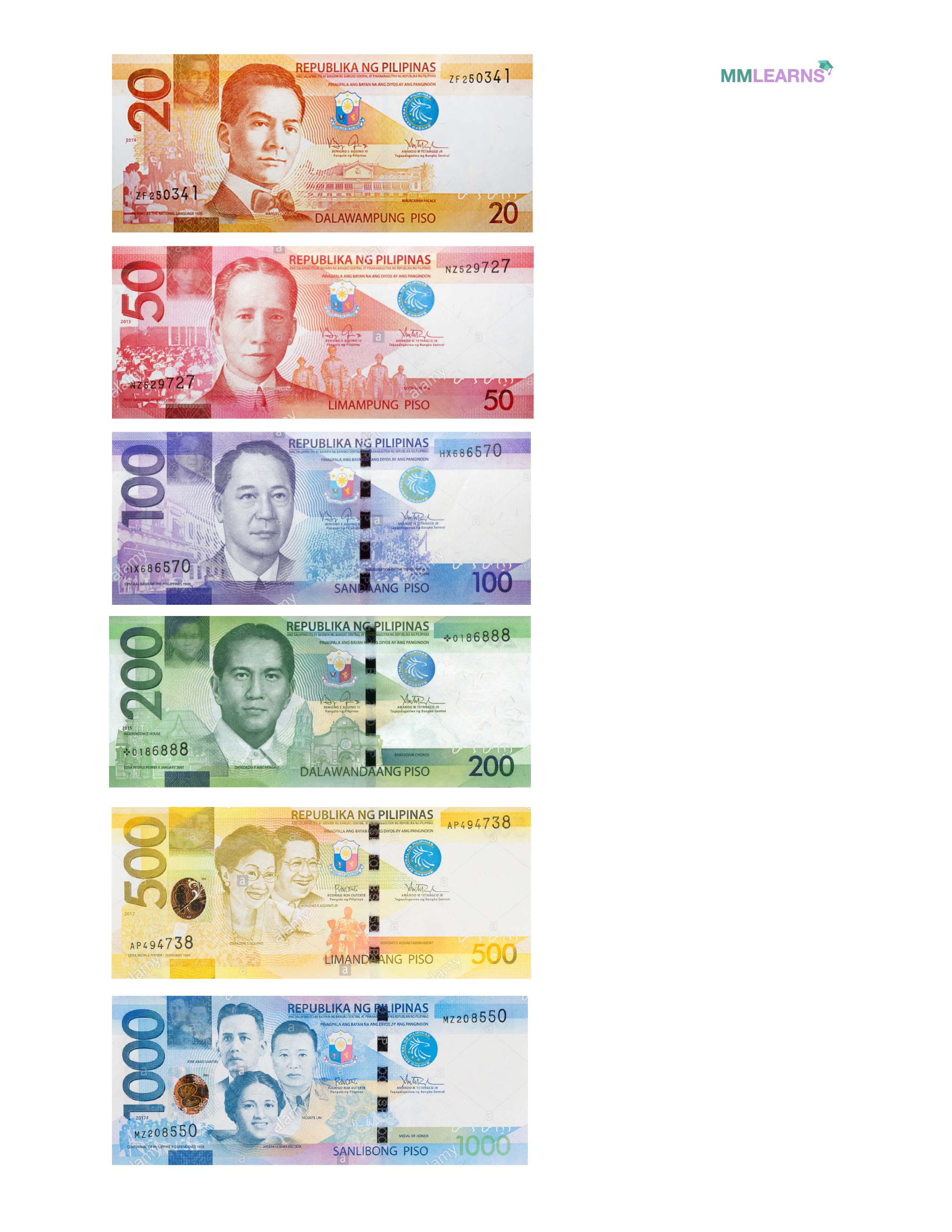 Math: Philippine Currency / Money Lessons and Worksheets [ 1023 x 791 Pixel ]
