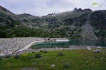Le barrage du Lac d'Aubert - Pyrénées Réserve de Néouvielle - 2017