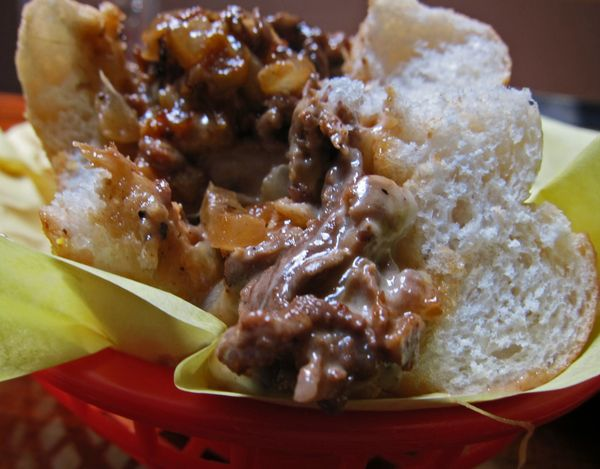 mmmyoso Say Cheesesteaks A comparison of
