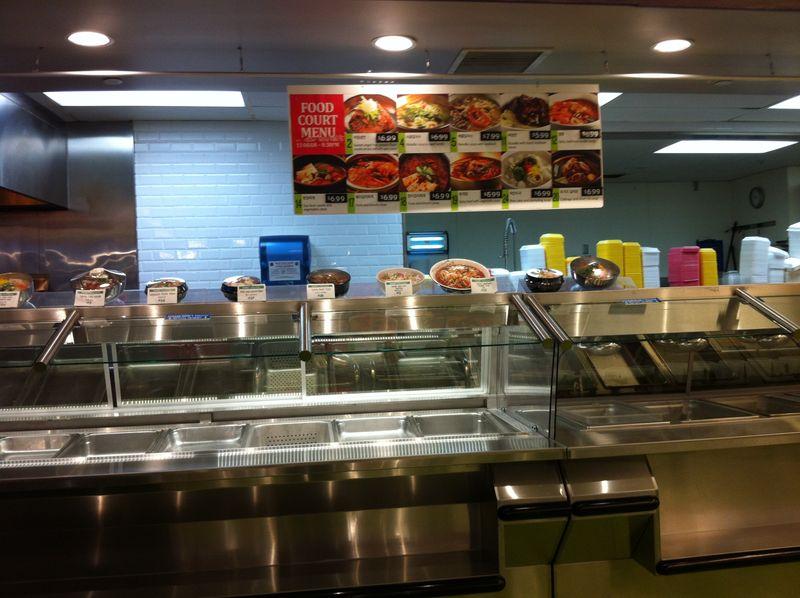 H Mart Food Court- hot pot and soup - mmm-yoso!!!