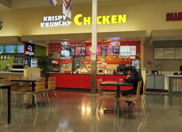 Krispy Krunchy Chicken and Ramen in the 99 Ranch Market