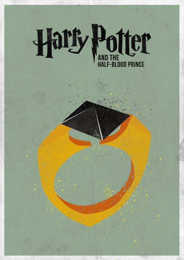 7 Minimal Harry Potter film Posters
