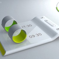 Minimal 'Ring' Alarm Clock Designed for Couples
