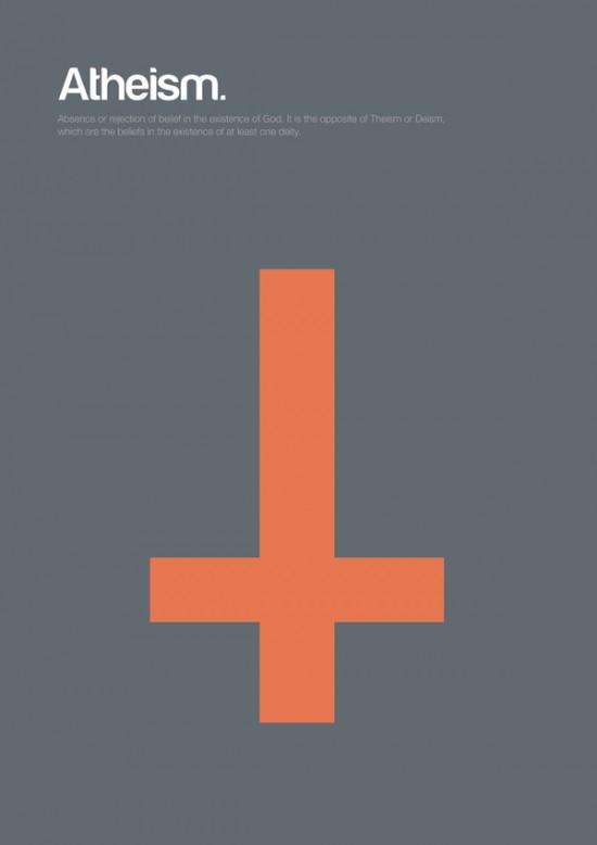 Minimal Philosophy Poster Series by Genis Carreras