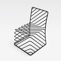 Black Wire Chair Hanging Bubble Under 200 Minimal By Nendo