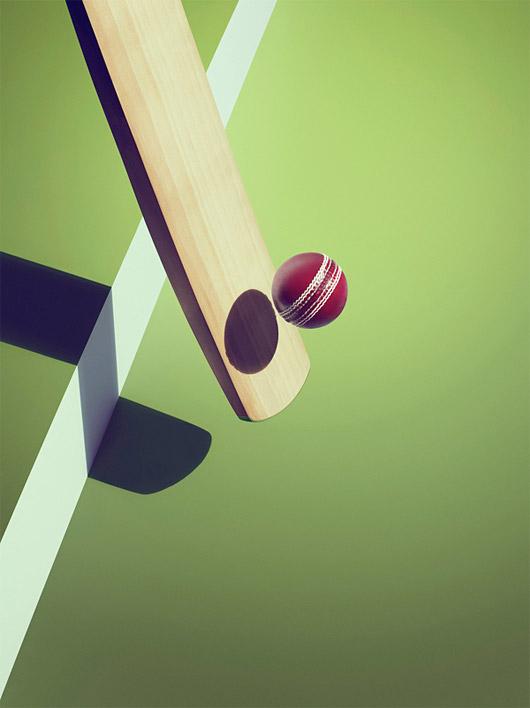 Sports Shadows by Kelvin Murray