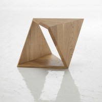 Tricubo ~ Oak Coffee Table by Autori Vari