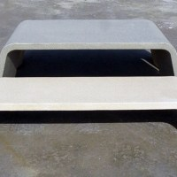Mimetic ~ The Minimal Urban Concrete Bench