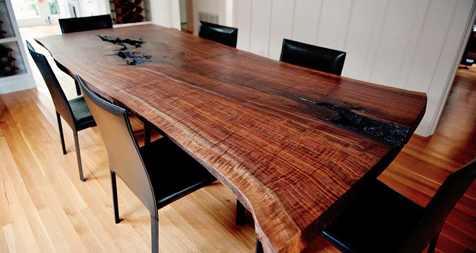 Wood Slab Furniture