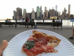 ZA, Brooklyn evening by the water, good and untiring conversation, friends who show you more of who you are.